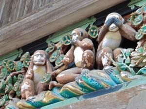 Tres monos de la sabiduría