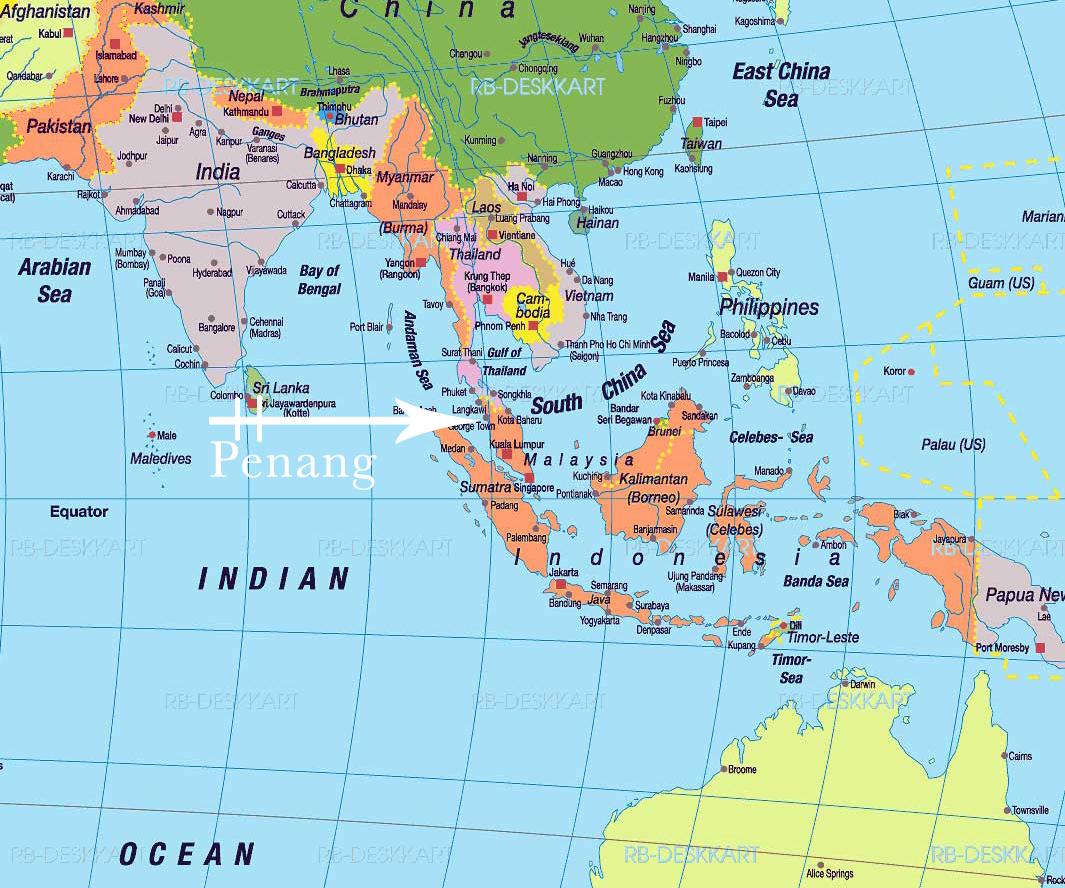 World map showing asia google map of marseille france nations world map showing asia george town la ciudad de las culturas un mundo interminable gumiabroncs Images